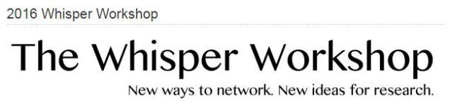 whispercon
