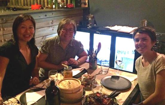 AASRN Perth meet-up: (L to R) Qian Gong, Denise Woods, Nadia Rhook.