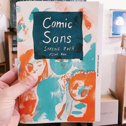 Comic Sans - issue 2 | Photo by Rachel Ang