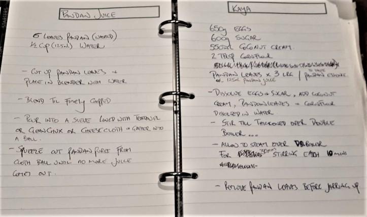 #chefbro's kaya recipe